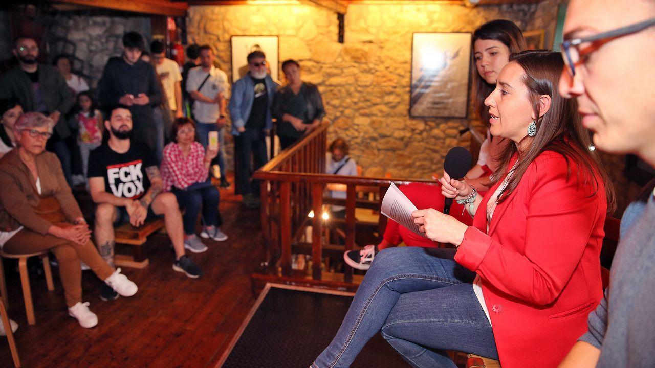 Presentación de la candidatura de Marea na Vila