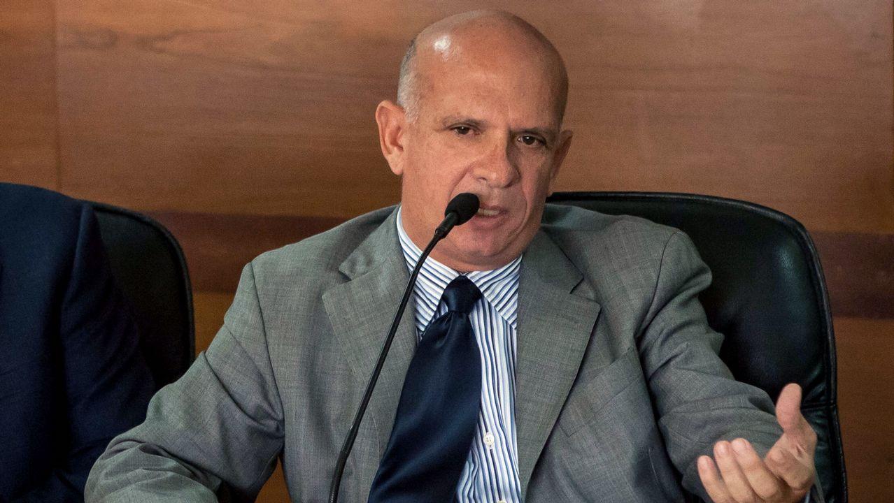 El exgeneral Hugo Carvajal, antiguo jefe de la contrainteligencia militar venezolana, en una fotografía tomada el 27 de enero del 2016