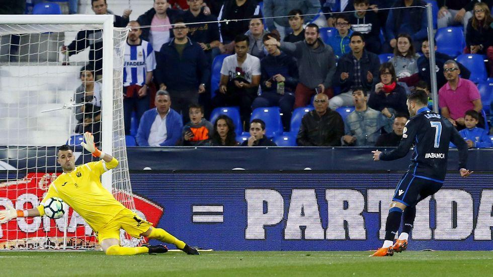 Las mejores imágenes del Liverpool - Roma.Lucas falló su ocasión más clara en el minuto 8