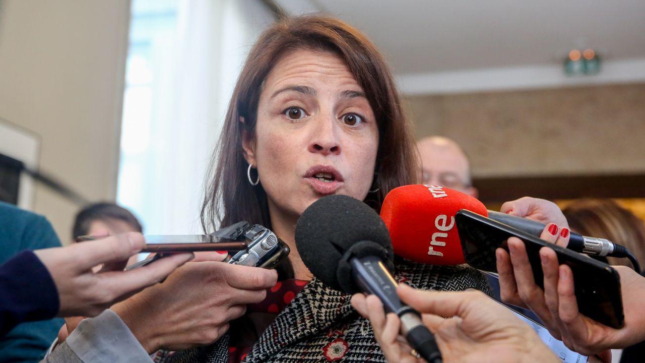| EFE.La portavoz del Grupo Socialista en el Congreso de los Diputados, Adriana Lastra
