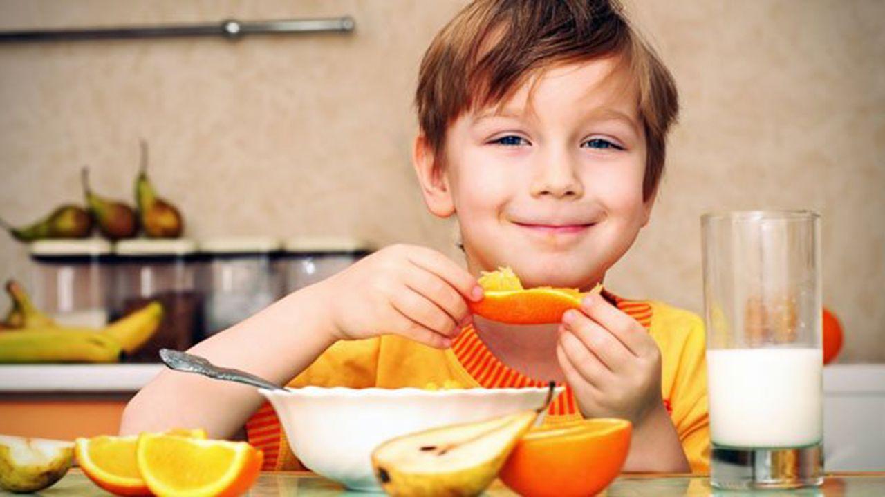 Desayuno niños