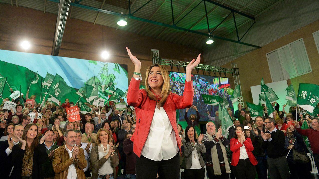 Torra se inspira en el modelo esloveno, que consiguió la independencia tras un conflicto con decenas de muertos.Susana Díaz, a la que las encuestas dan como vencedora, pidió al resto de partidos que no bloqueen su investidura