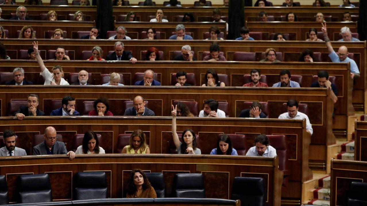Las reacciones tras el «no» del Senado al aborto legal en Argentina.El portavoz del PP en el Senado, José Manuel Barreiro