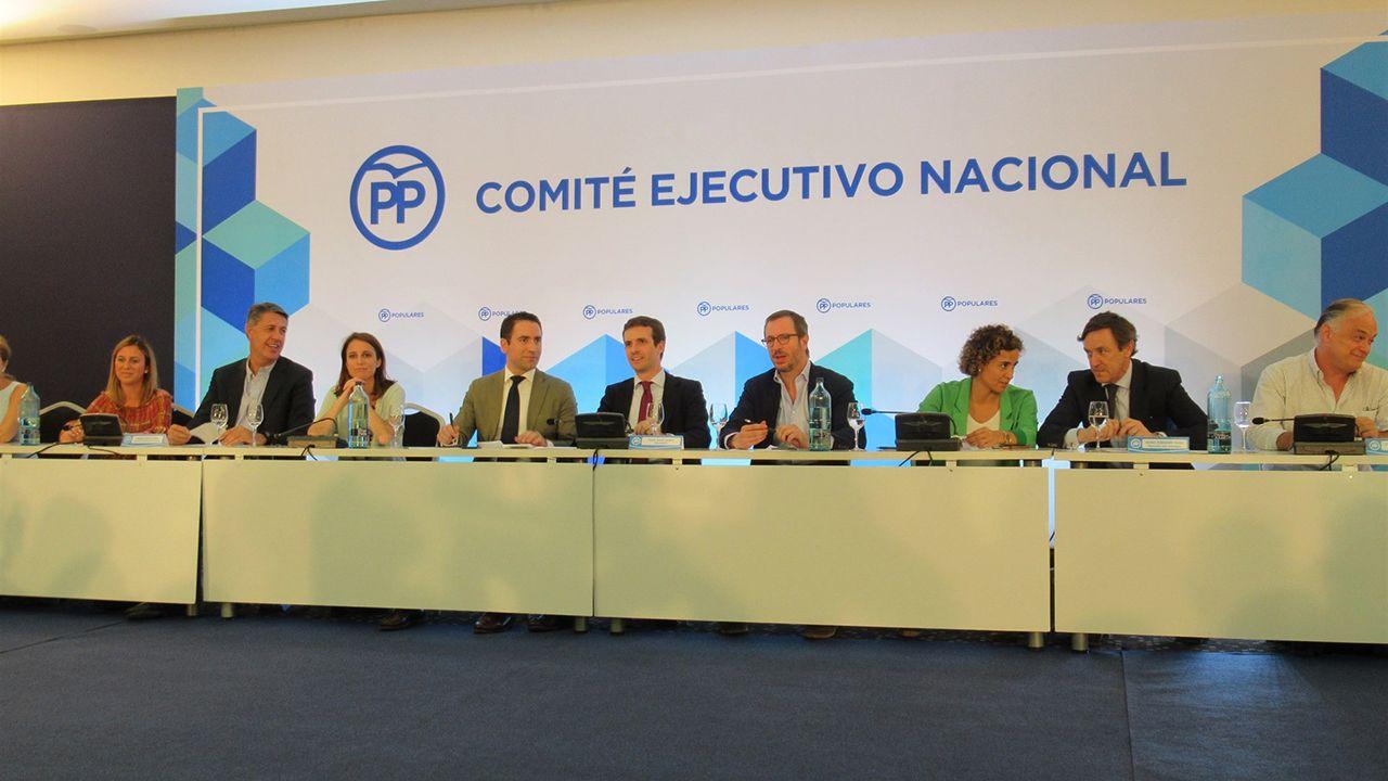 «Primero quiero hablar con Pablo Casado».Comité Ejecutivo Nacional
