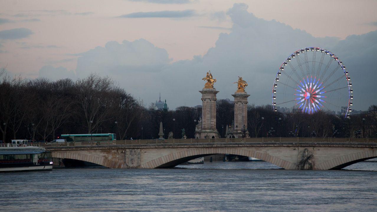 París en alerta por la crecida del Sena.