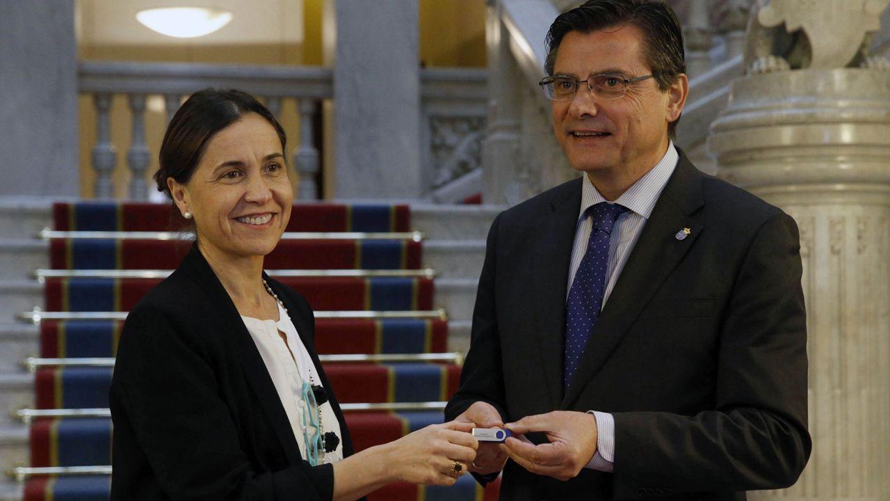 Dolores Carcedo y Pedro Sanjurjo