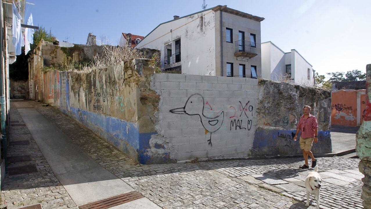 .La propiedad de Argüelles, de la que apenas queda ya nada, se transformará en un edificio con dos viviendas y un bajo comercial