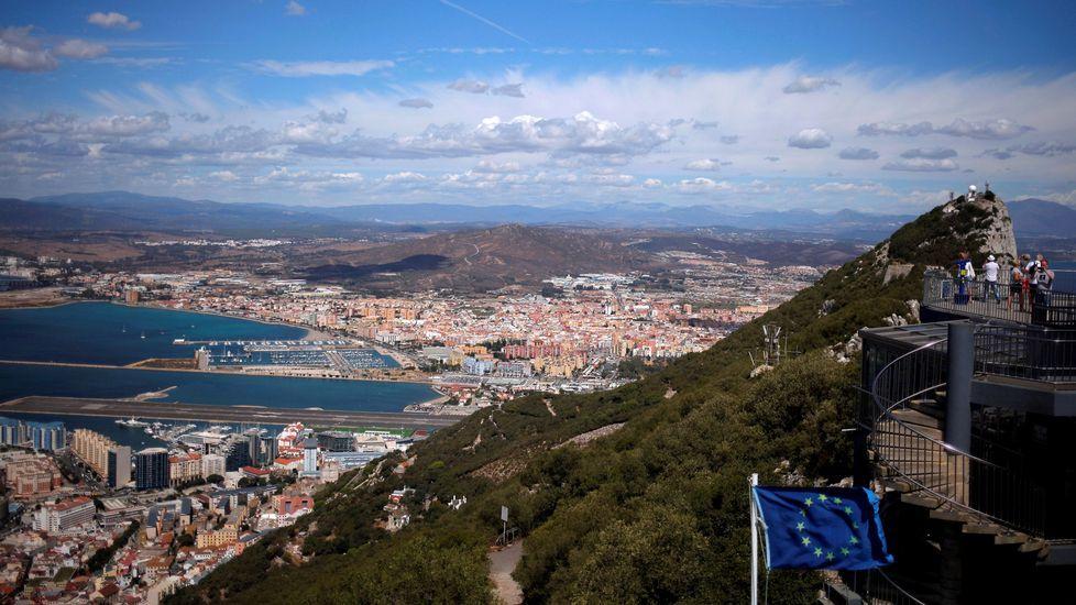 May reitera «el férreo compromiso» de Londres respecto a la soberanía de Gibraltar