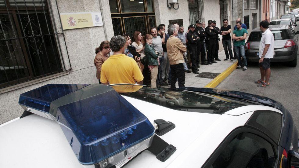 DESPLIEGUE POLICIAL EN LA SAGRADA FAMILIA A PRINCIPIOS DE MES