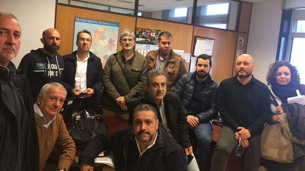 Dos millones de firmas a favor de la prisión permanente revisable.Asamblea de funcionarios en Vigo