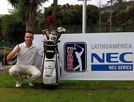 PERÚ. El jugador coruñés se quedó cerca de entrar en el circuito de la PGA de Latinoamérica.