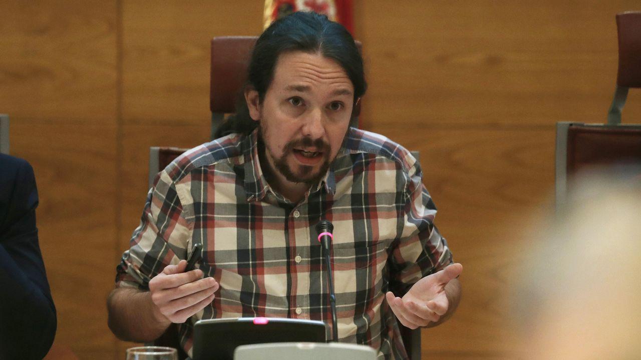 Los vídeos con los que el PP ha querido sonrojar a Iglesias en la comisión de financiación de partidos en el Senado