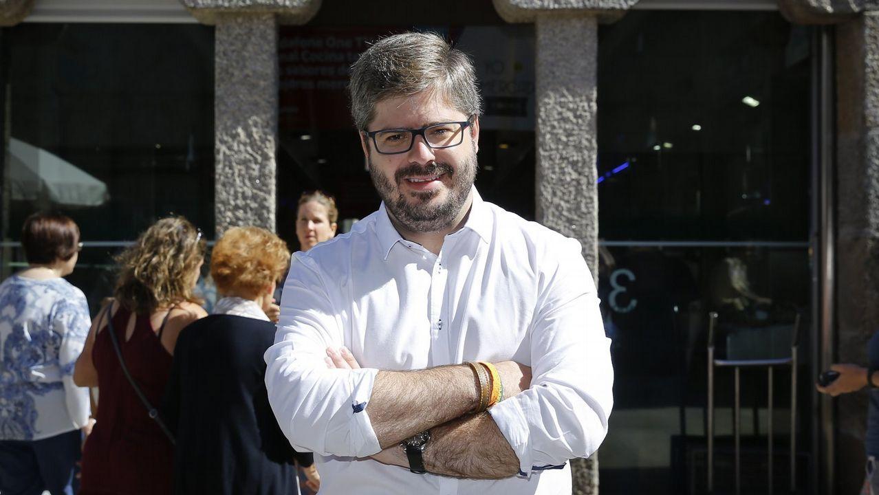 .El secretario de Organización de Ciudadanos, Fran Hervías