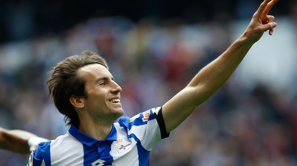 Las fotos del Deportivo - Málaga.