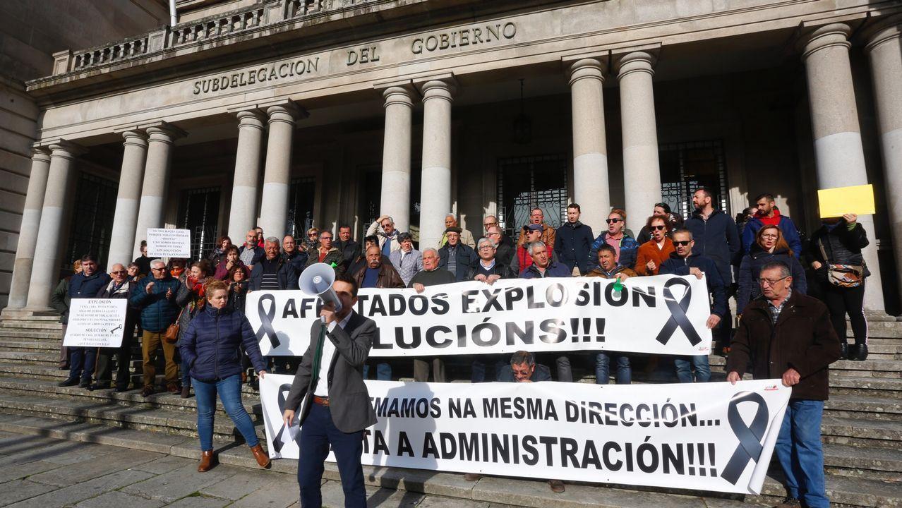 El Gobierno ofrece 15.000 euros por cada casa arrasada por la explosión de Tui a familias que cobren el salario mínimo