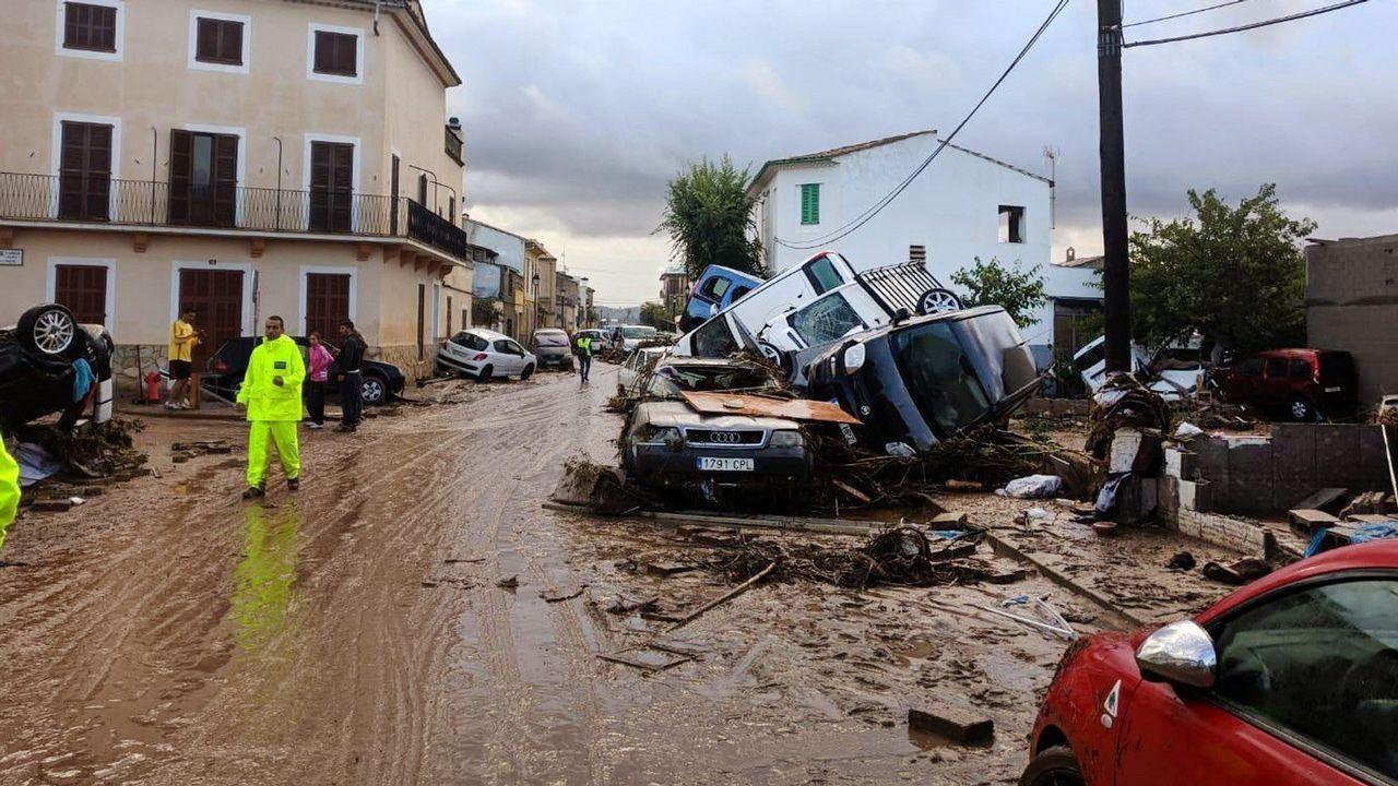 Aspecto hoy de las calles de Sant Llorenç