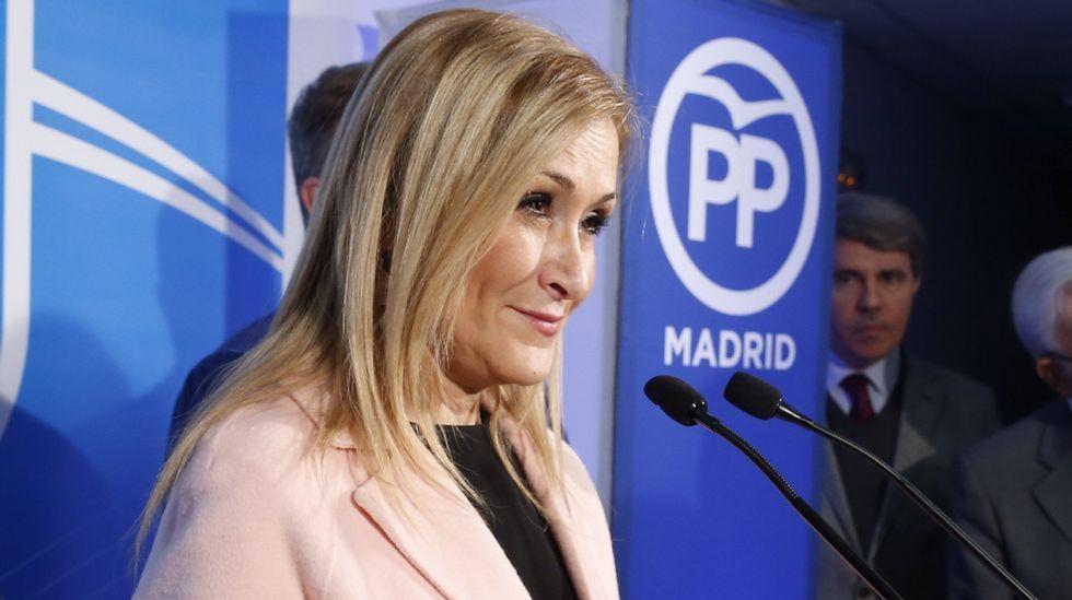 Cifuentes: «No me he sentido engañada por Esperanza Aguirre».Comité Ejecutivo Nacional del PP