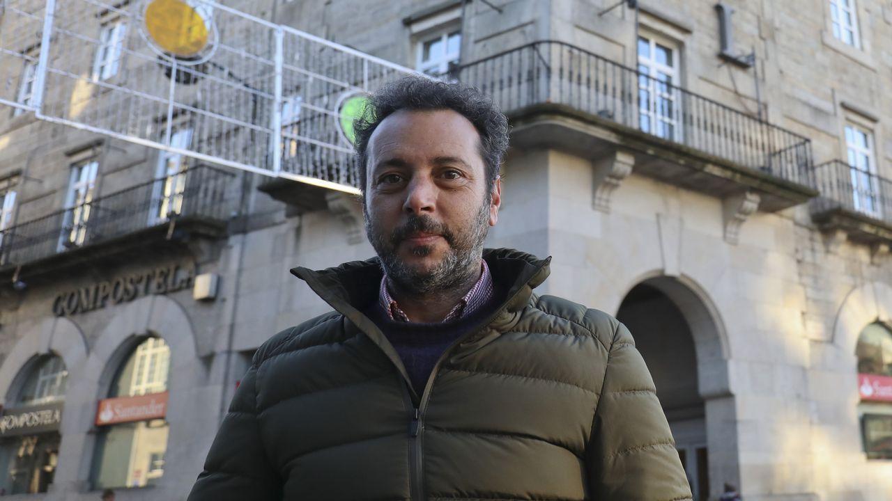 El rock sanxenxino hace bailar a los italianos.Juan Luis Fernández Martínez