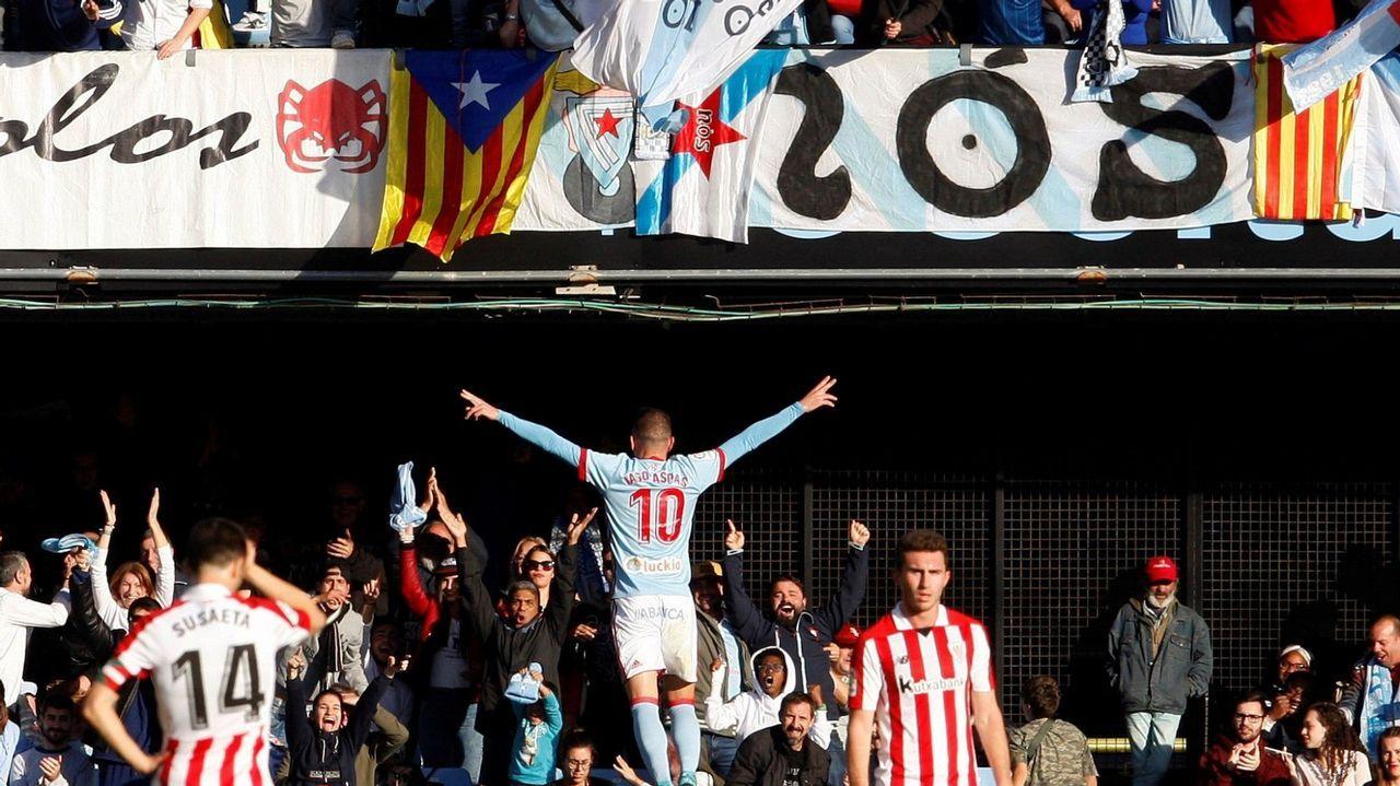 253 - Celta-Athletic (3-1) de Primera el 5 de noviembre del 2017