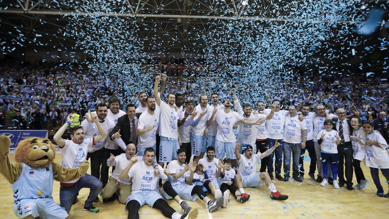 Lo han logrado: el Breogán vuelve a la ACB después de 12 años.