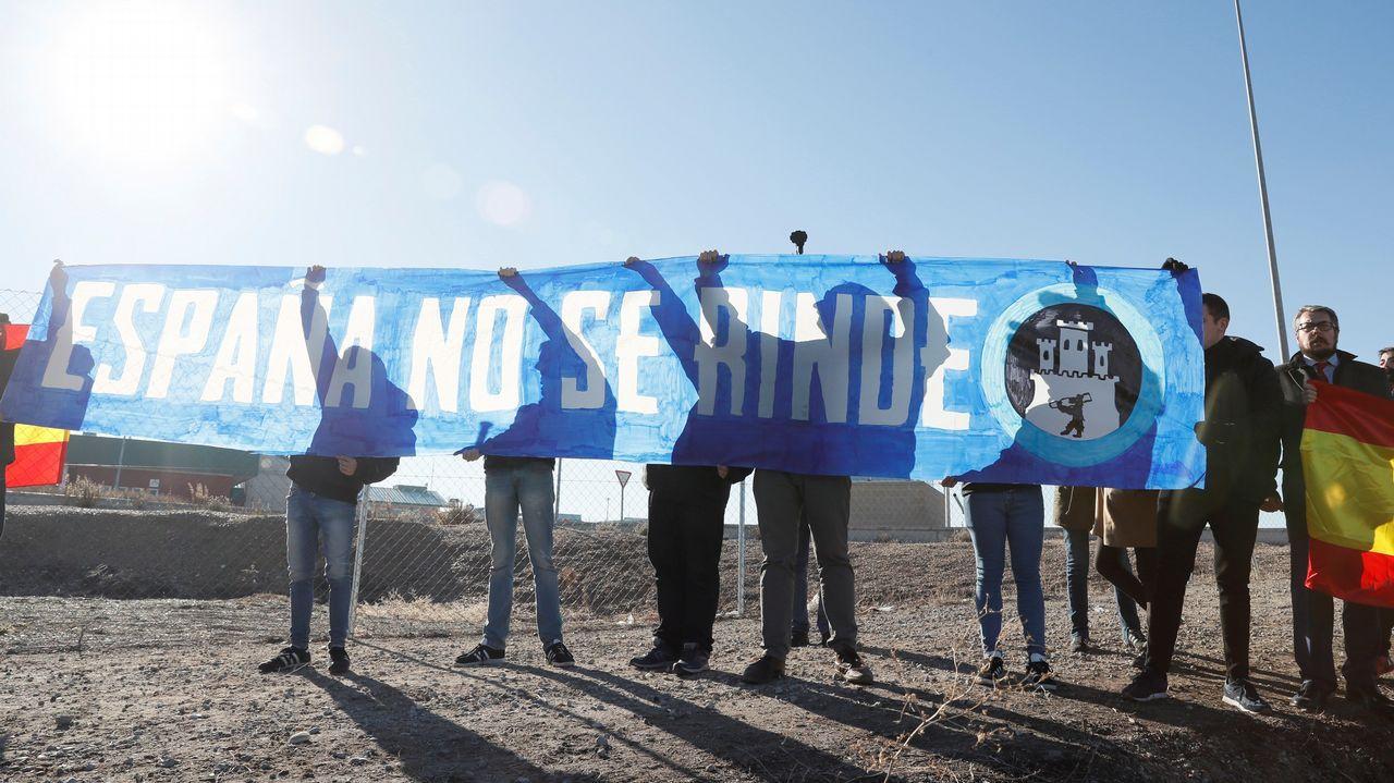 Intento de boicot en el cierre de campaña de ERC en Estremera.Imagen de las últimas elecciones autonomicas celebradas en Cataluña