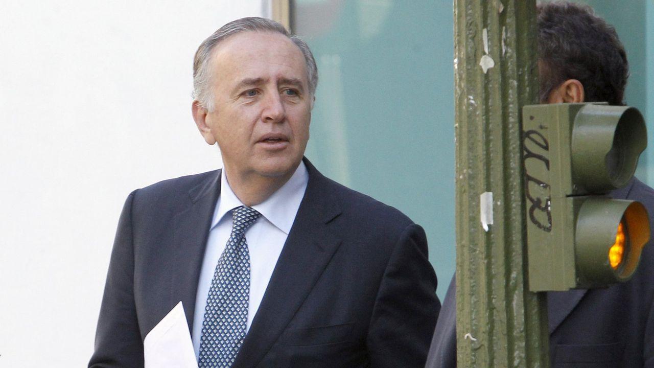 Manifestación 8M.Ignacio González, consejero delegado de Nueva Pescanova