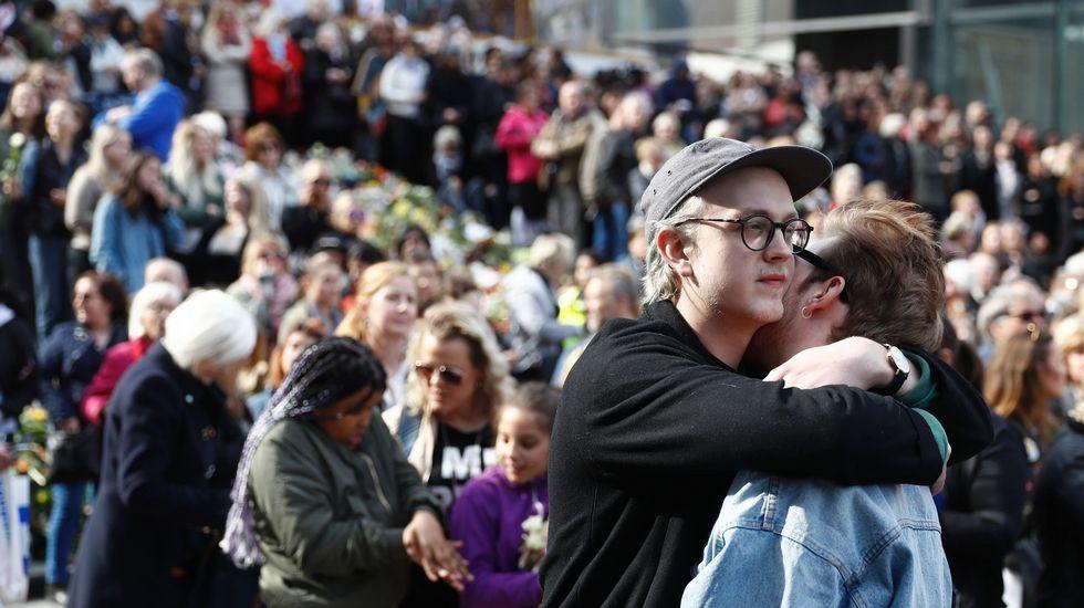 «Manifestación del amor», en Estocolmo