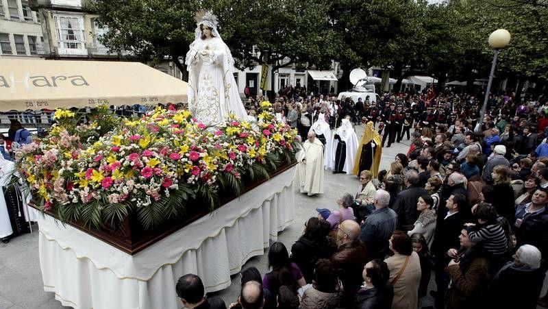 Semana Santa de Ferrol 2013: Las imágenes de la Pasión