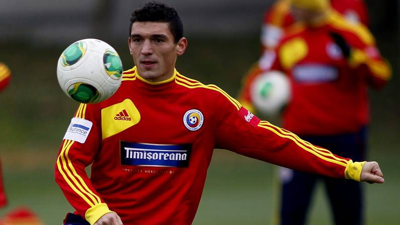 Claudiu Keseru, jugador de Rumanía