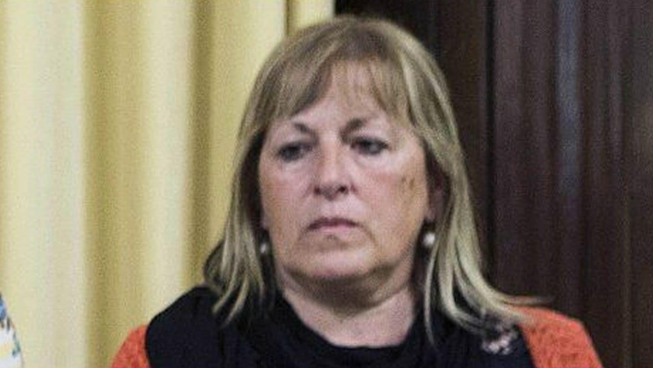 Ramona Barrufet. Exmiembro de la Mesa del Parlamento. Desobediencia