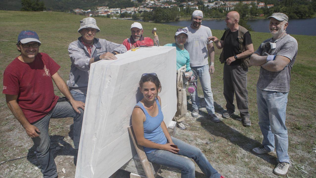 El documental con el que Nel visibiliza la ELA.Foto de archivo de Francisco Jorquera