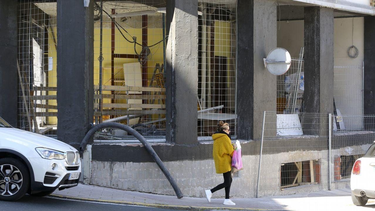 Los cambiadores para bebés serán obligatorios en los baños para hombres de Galicia.Estación de autobuses de Santiago