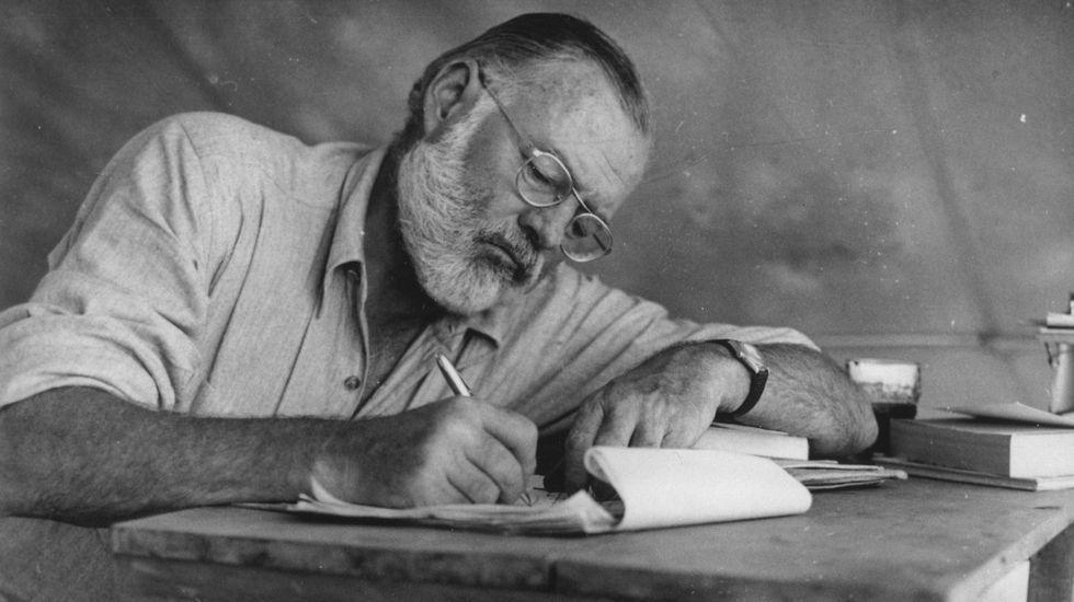 «La Manada» se declara inocente a puerta cerrada.Ernest Hemingway