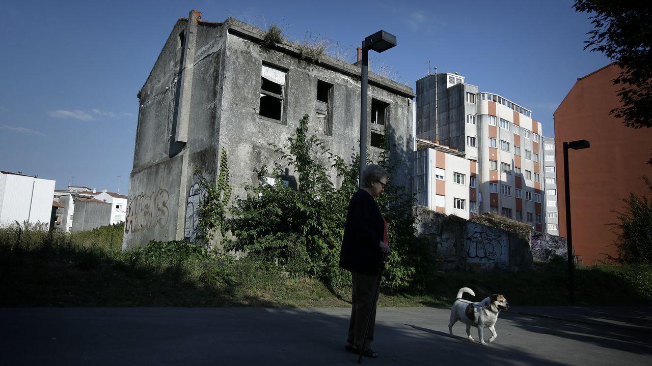 Edificio donde se encuentra el ático que compró el Ayuntamiento de A Coruña a un afín de La Marea
