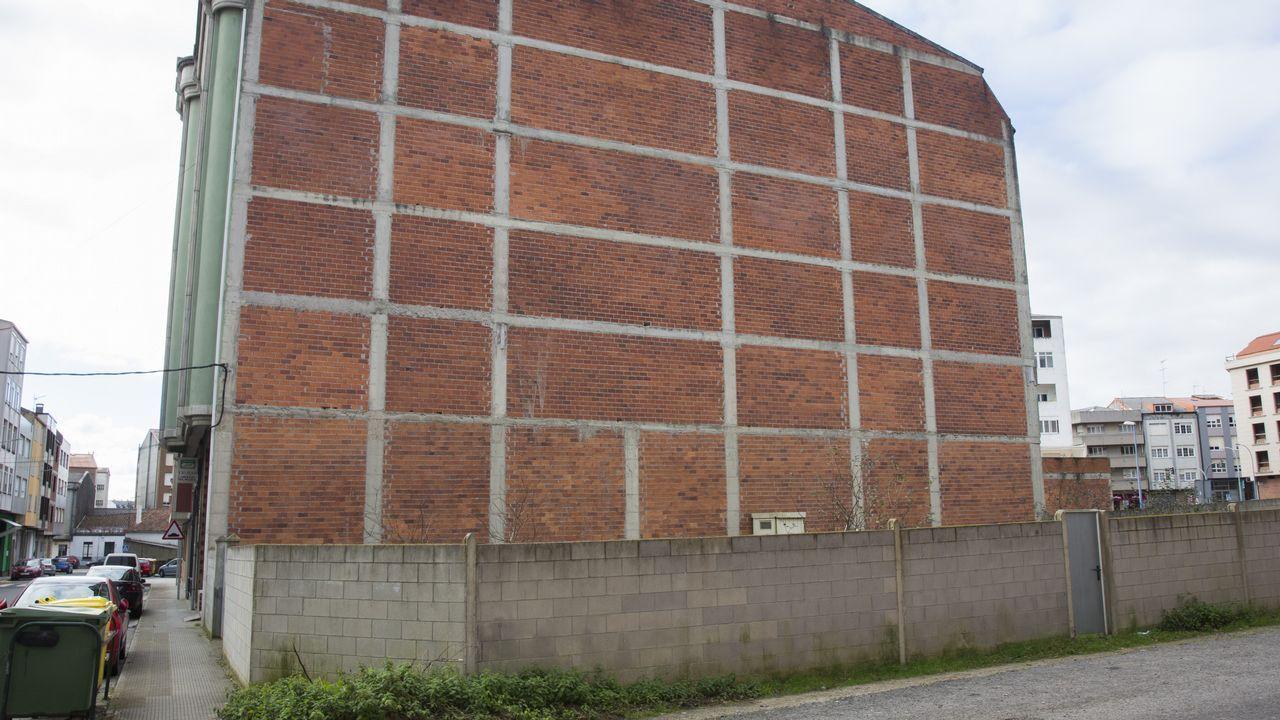 Lugar donde se va a levantar el edificio.