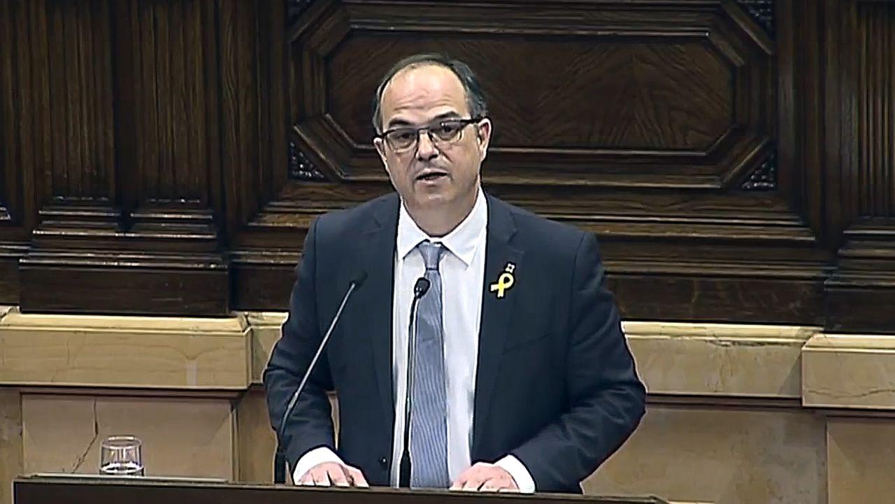 En directo, pleno de investidurade Jordi Turull