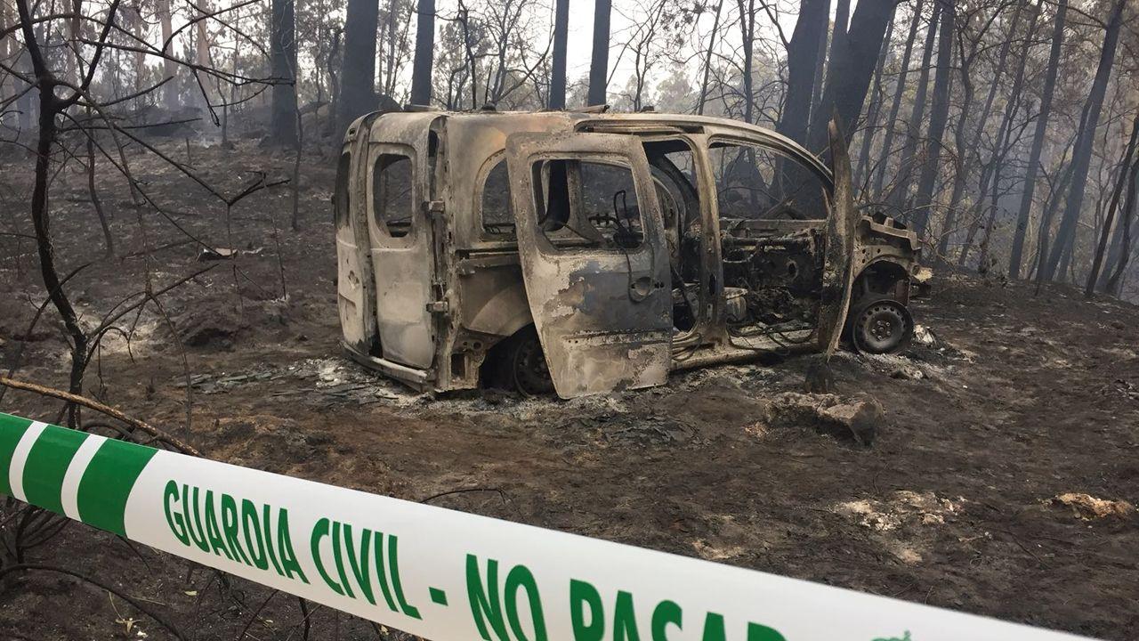 Son ya 4 las víctimas mortales en los incendios que devoran Galicia
