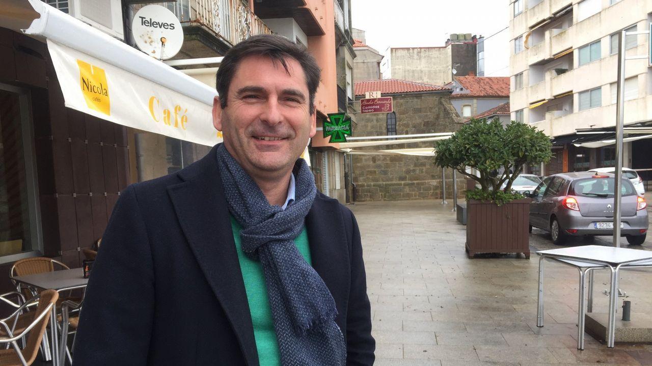 El cantante Pablo López, en un reciente concierto que ofreció en Vigo