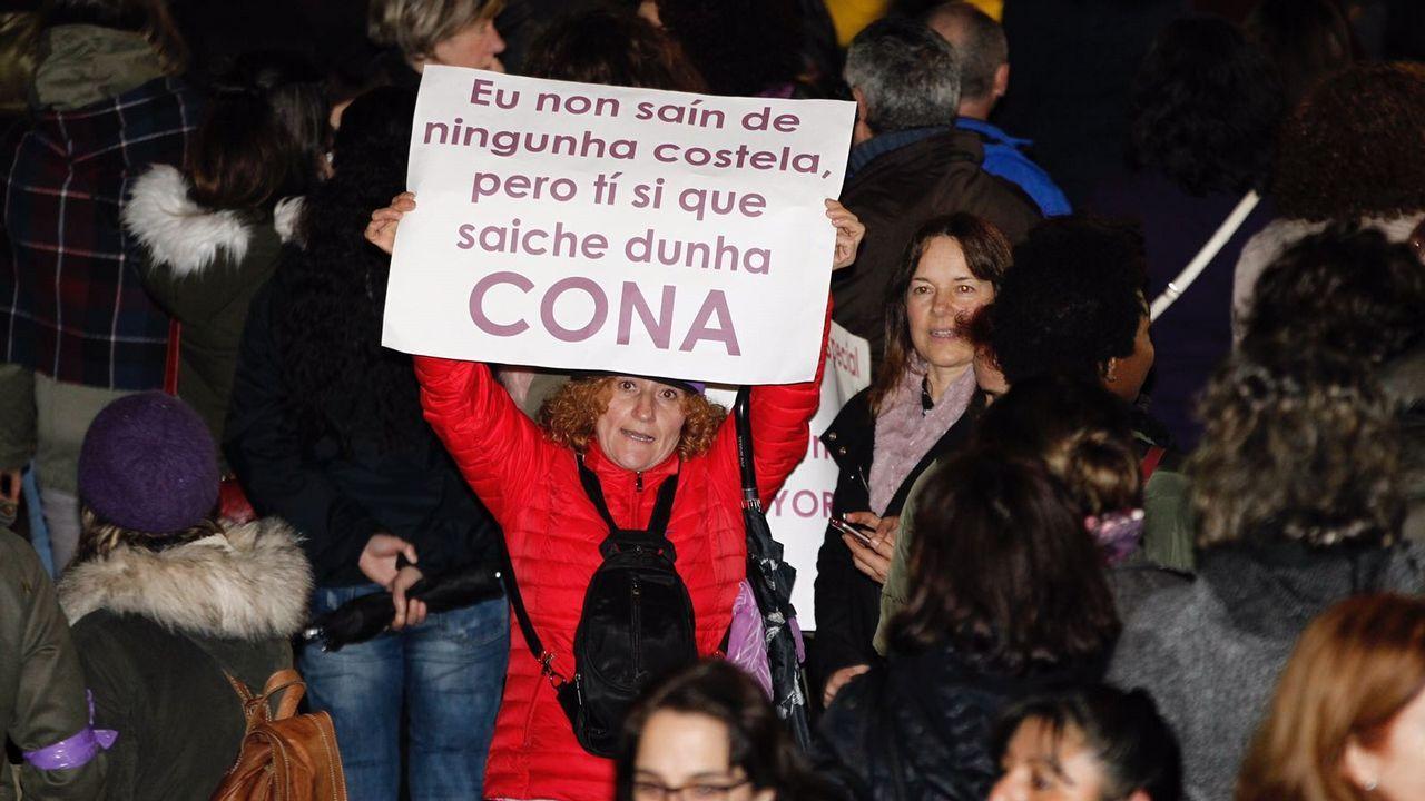 Manifestación 8M.