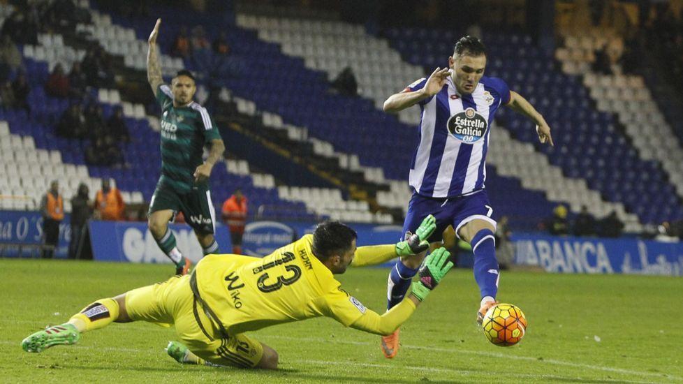 Las mejores imágenes del Deportivo - Betis