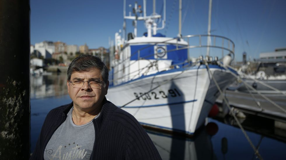 Santiago Parra, director do Oceanográfico, diante do Lura