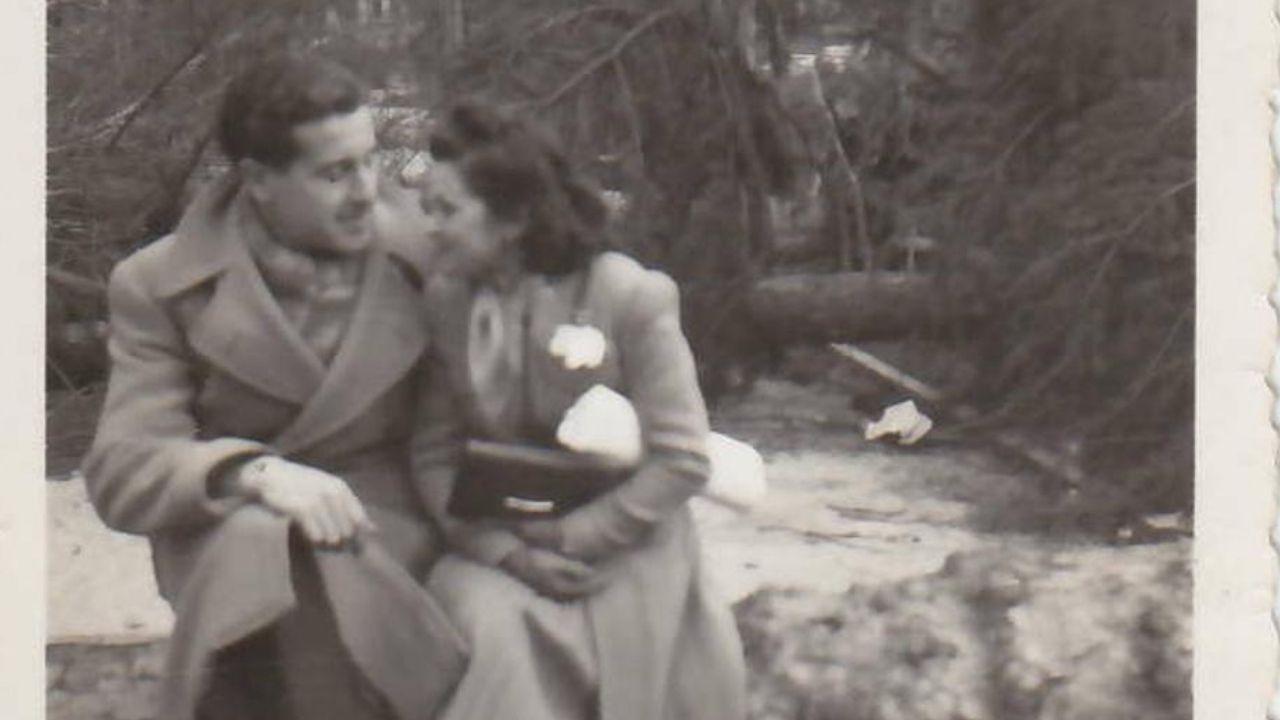 27 fotos para llegar a la familia de una víctima del nazismo.Charles Michel