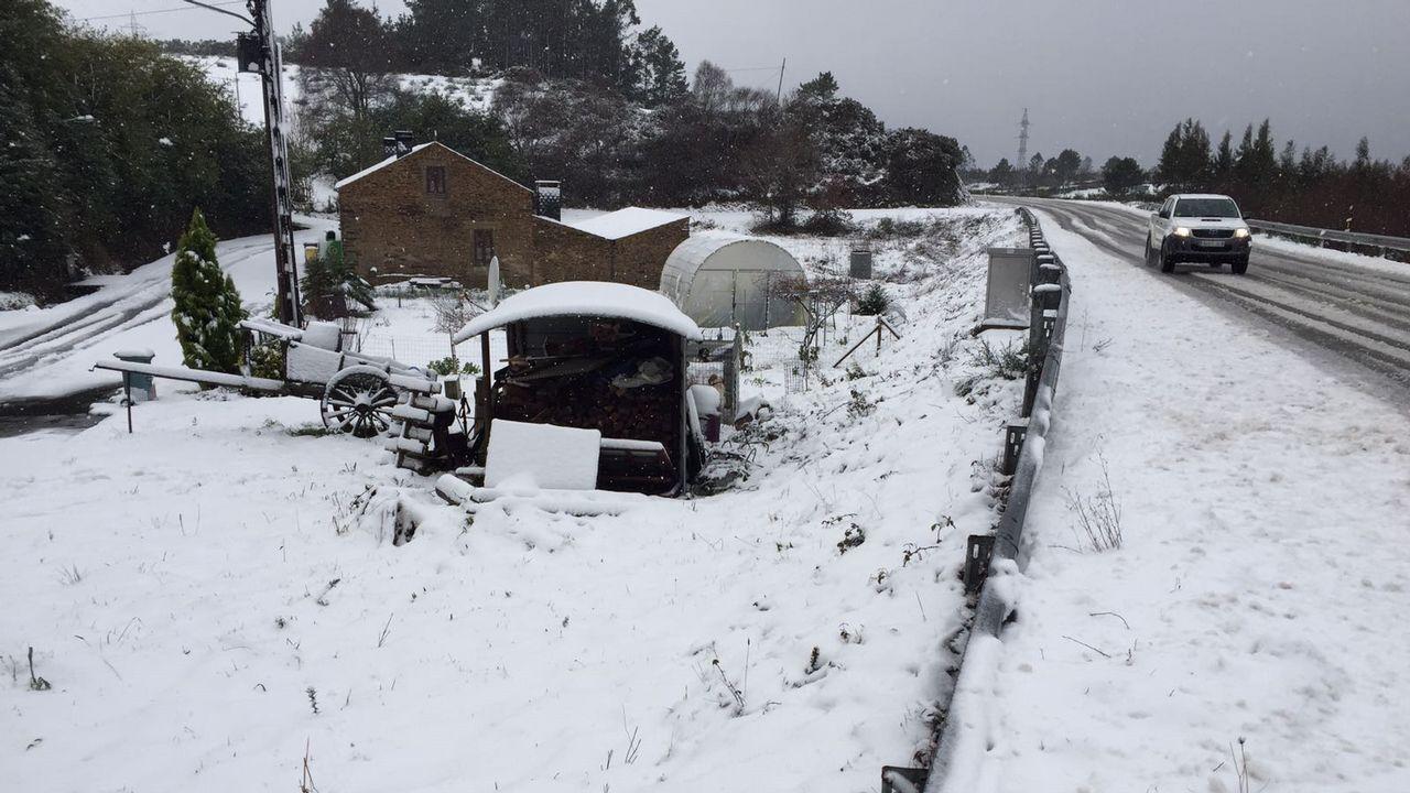 .Nieve en As Pontes