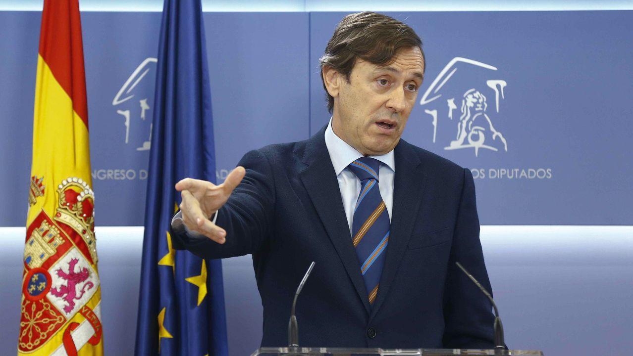 Mercedes Fernández interviene en el Comité Ejecutivo Regional del PP de Asturias.Mercedes Fernández interviene en el Comité Ejecutivo Regional del PP de Asturias