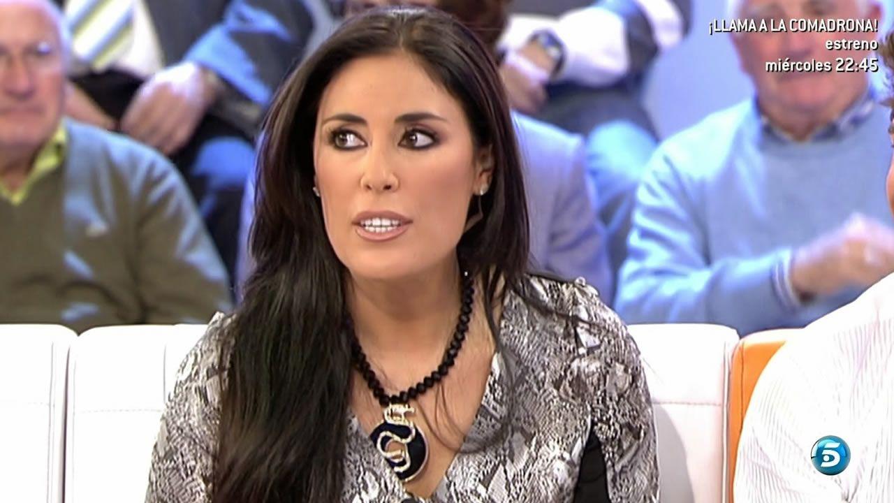 Isabel Rábago.Isabel Rábago, como colaboradora en uno de los programas de Telecinco