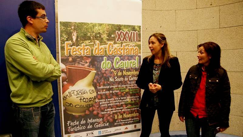 Setecientos kilos de castañas y pregún musical Davide Salvado en Folgoso do Courel.Los asistentes a la Festa da Castaña do Courel consumieron 700 kilogramos de castañas durante toda la jornada.