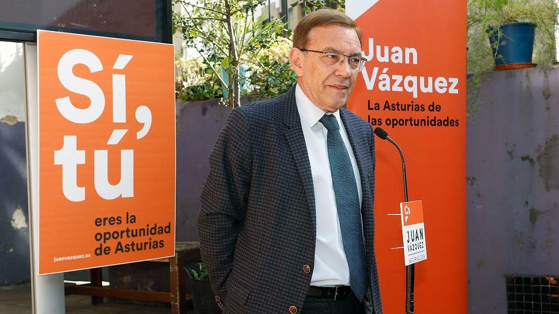 Ciudadanos oviedo.Juan Vázquez