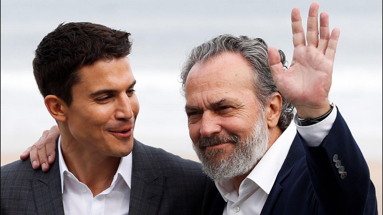 Los actores José Coronado y Alex González