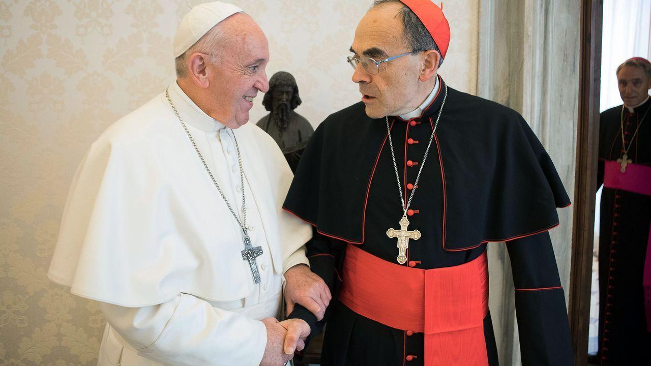 El hasta ahora arzobispo de Santiago de Chile, Ricardo Ezzati