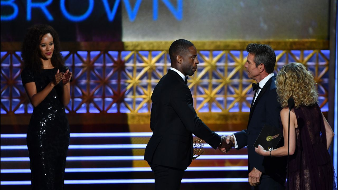 Sterling K. Brown, de «This is Us», mejor actor de serie dramática